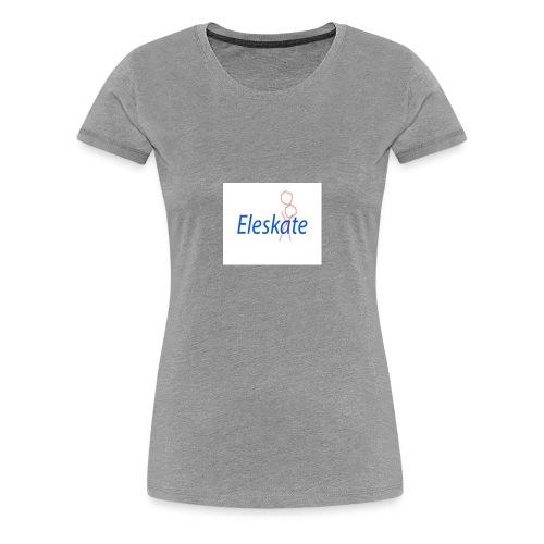 Eleskate - T-shirt Premium Femme
