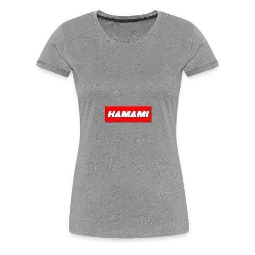 HAMAMI - Maglietta Premium da donna