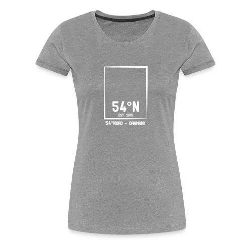 54°Nord square Bum Bag - Dame premium T-shirt
