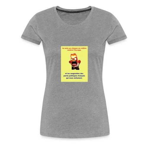 tee shirt 4 - T-shirt Premium Femme