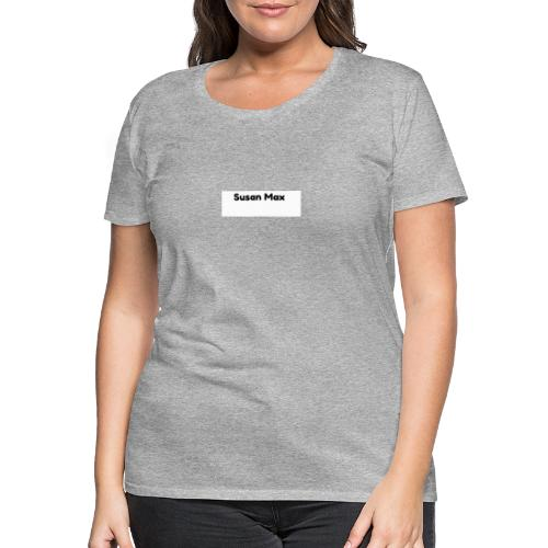 Susan Max Logo - Women's Premium T-Shirt
