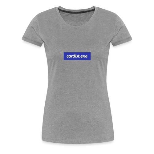 cardist.exe - T-shirt Premium Femme