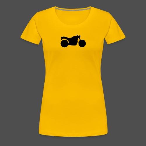 Naked Bike Classic 0NK02 - Women's Premium T-Shirt
