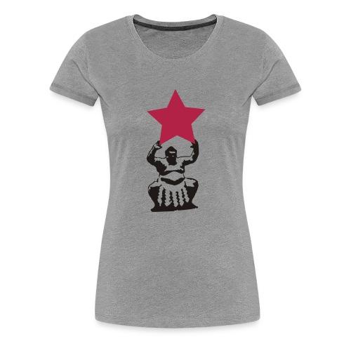 sumo sternträger - Frauen Premium T-Shirt