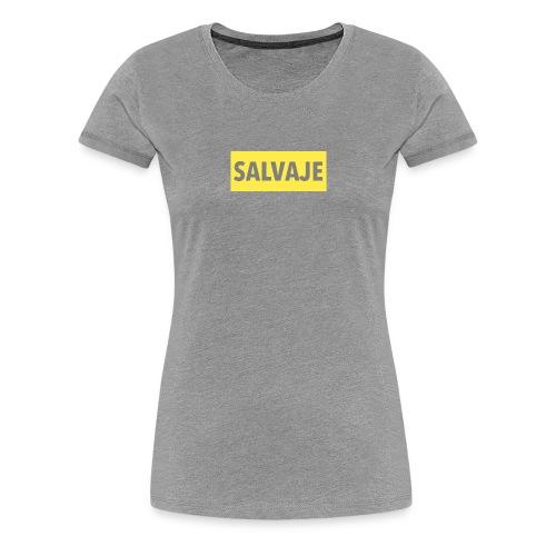 SALVAJE - Camiseta premium mujer