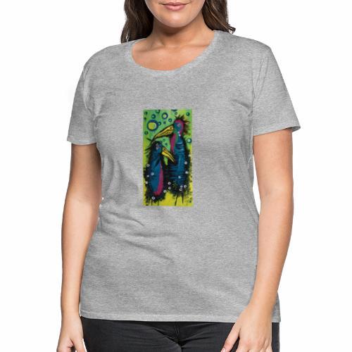 Two Birds - Dame premium T-shirt