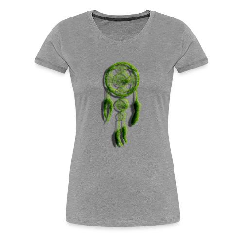 SCACCIA_SOGNI_ERBA-png - Maglietta Premium da donna
