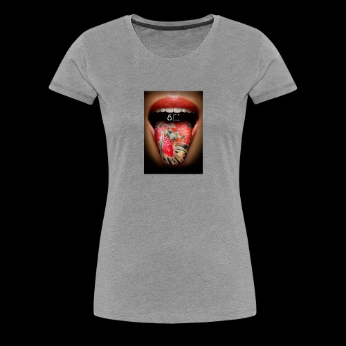 Langue - T-shirt Premium Femme