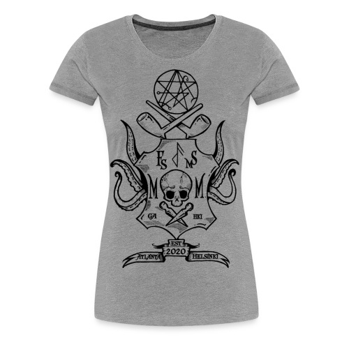 Frost Pipes & Misfits And Makers - Women's Premium T-Shirt