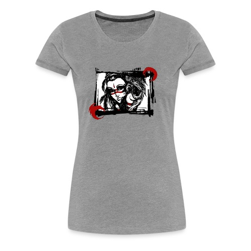 the Spirit of the Hawk - Frauen Premium T-Shirt