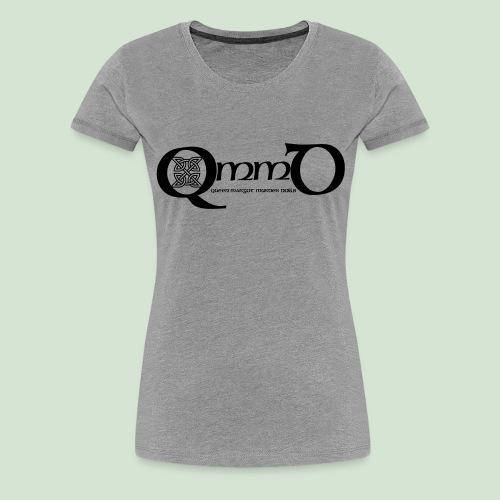 QmmD Logo Black - Frauen Premium T-Shirt
