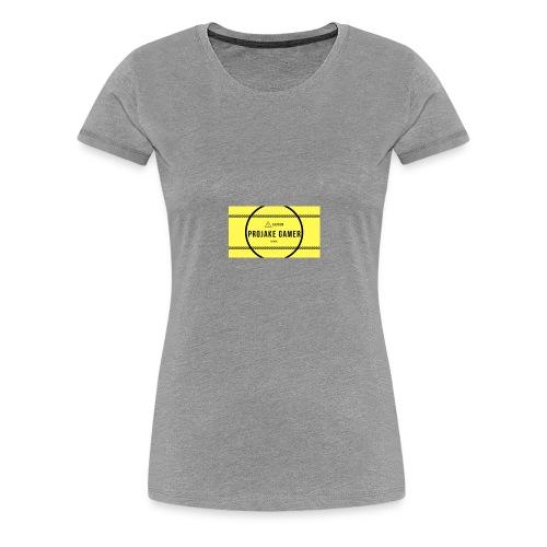 PROJAKE GAMER IS HERE - Women's Premium T-Shirt