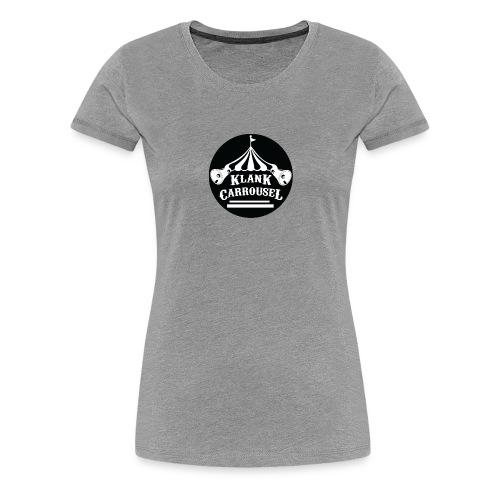 klankcarrousel1 - Vrouwen Premium T-shirt