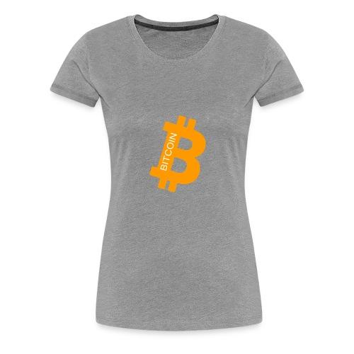 Bitcoin addict - T-shirt Premium Femme