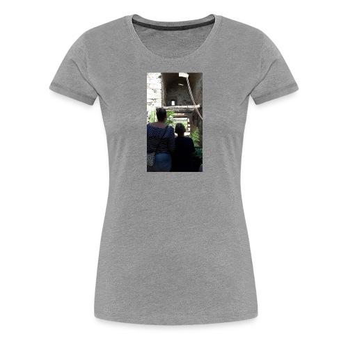 Hoesje van mij en emma - Vrouwen Premium T-shirt