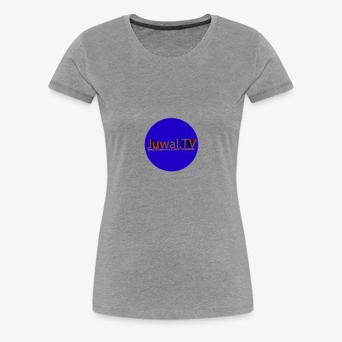 New logo JUWAL.TV - T-shirt Premium Femme