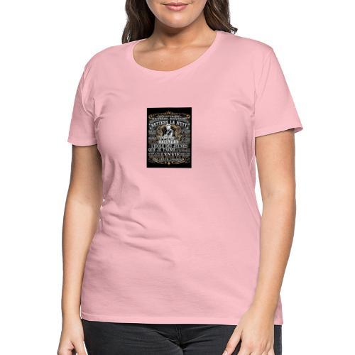 Johnny hallyday diamant peinture Superstar chanteu - T-shirt Premium Femme