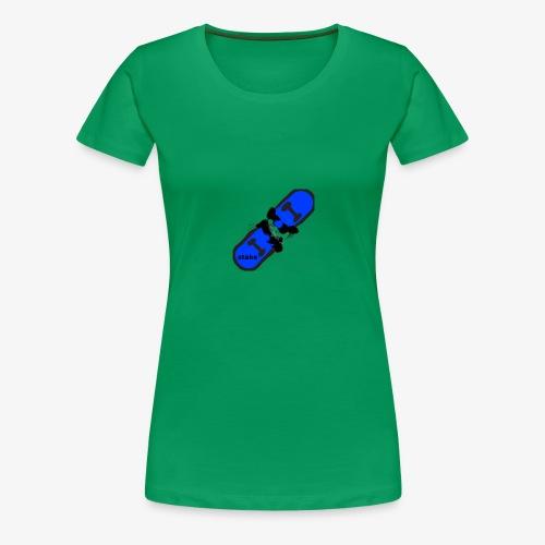 skateboard 512 - Dame premium T-shirt