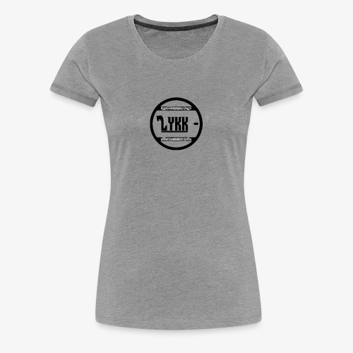 LYKK _ - Dame premium T-shirt