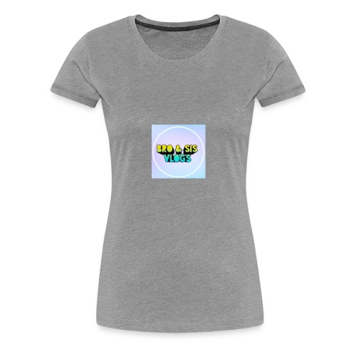 Bro & sis vlogs merch - Women's Premium T-Shirt