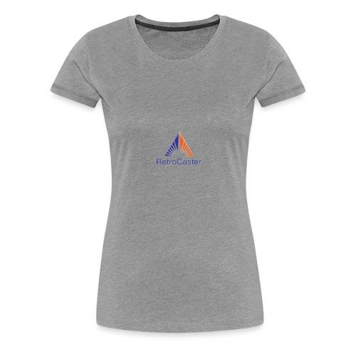 RetroCaster YT Channel Logo - Women's Premium T-Shirt