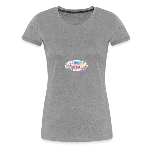 bienvenue - T-shirt Premium Femme