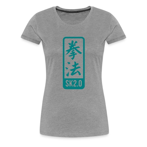 sk2-0-label-14 - Vrouwen Premium T-shirt