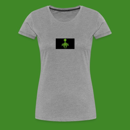 Green spiderman - Women's Premium T-Shirt