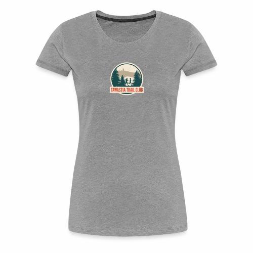 Tawastia Trail Logo - Naisten premium t-paita