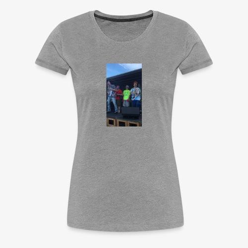 DON! UMUND x LiL BENTLi × Unge Gevinst - Dame premium T-shirt
