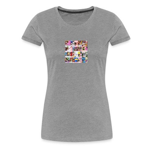 Supercollage - Camiseta premium mujer