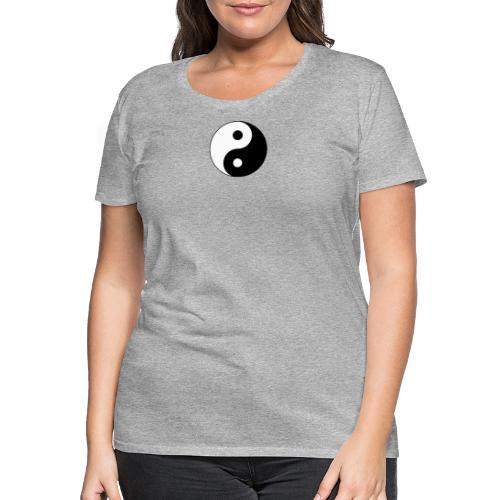 Yin Yang balance in life - Women's Premium T-Shirt