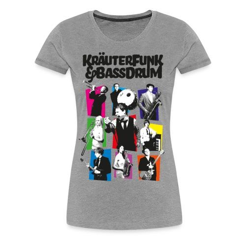 Kräuter-Band - Frauen Premium T-Shirt