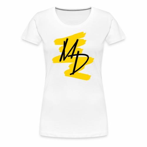 MD BRAND PNG Amarillo - Camiseta premium mujer