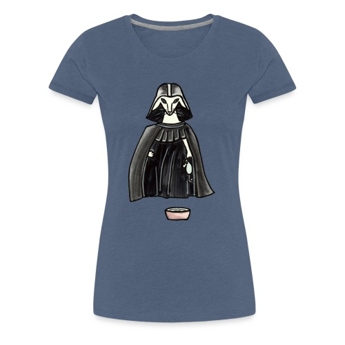 Darth Albert - Premium-T-shirt dam