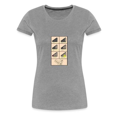 Bad connection - Women's Premium T-Shirt