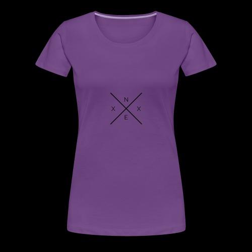 NEXX cross - Vrouwen Premium T-shirt