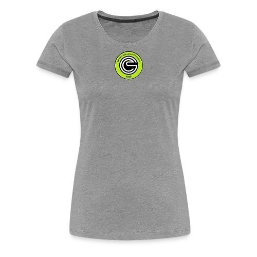 Logo GCC verde fluo errea senza contorno Copia png - Maglietta Premium da donna