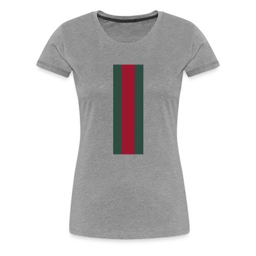Black duo - Premium-T-shirt dam