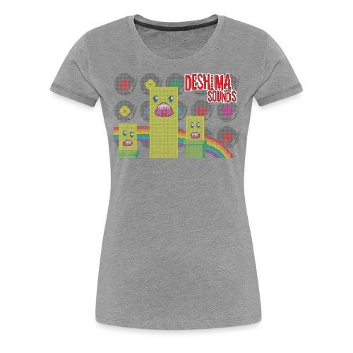 Deshima Sounds 07 2011 - Women's Premium T-Shirt
