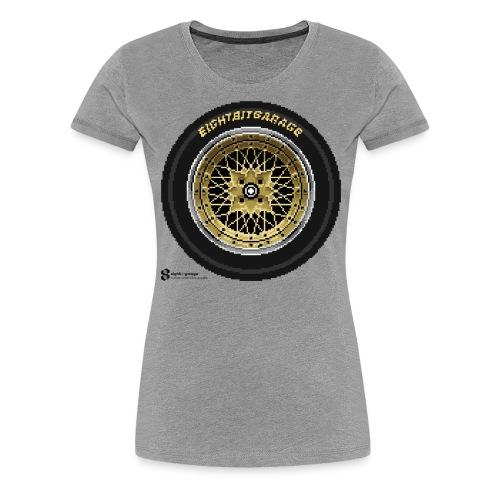 SSR FM black logo - Women's Premium T-Shirt