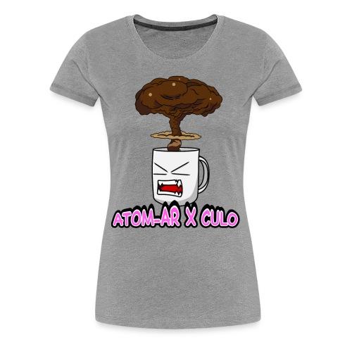 Atom Coffe - Camiseta premium mujer