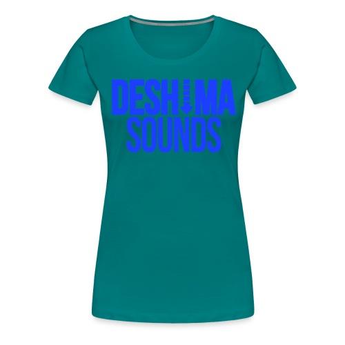 Blue - Women's Premium T-Shirt