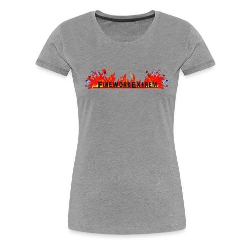 FireworkExtrem - Frauen Premium T-Shirt