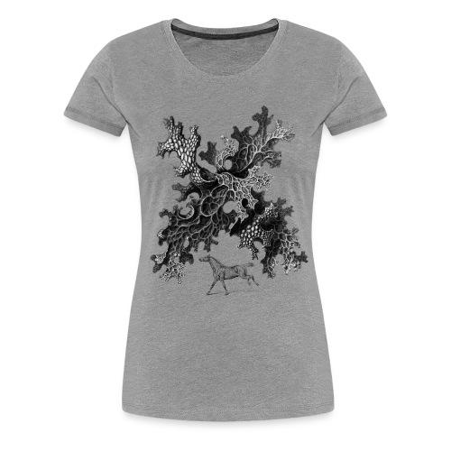 Pferd Kopie - Frauen Premium T-Shirt