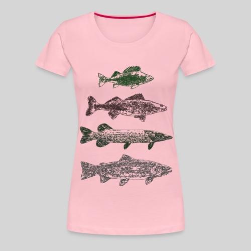 Lake - Naisten premium t-paita