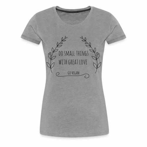 small things ranke - Frauen Premium T-Shirt