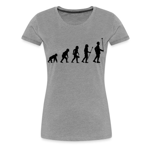 Stabführer Evolution - Frauen Premium T-Shirt