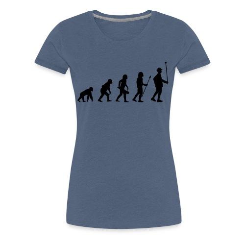 Stabführer Evolution - Frauen Premium T-Shirt