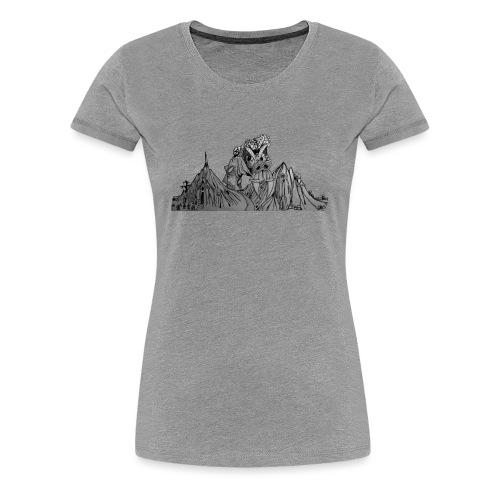 The Watcher Awakes - Women's Premium T-Shirt